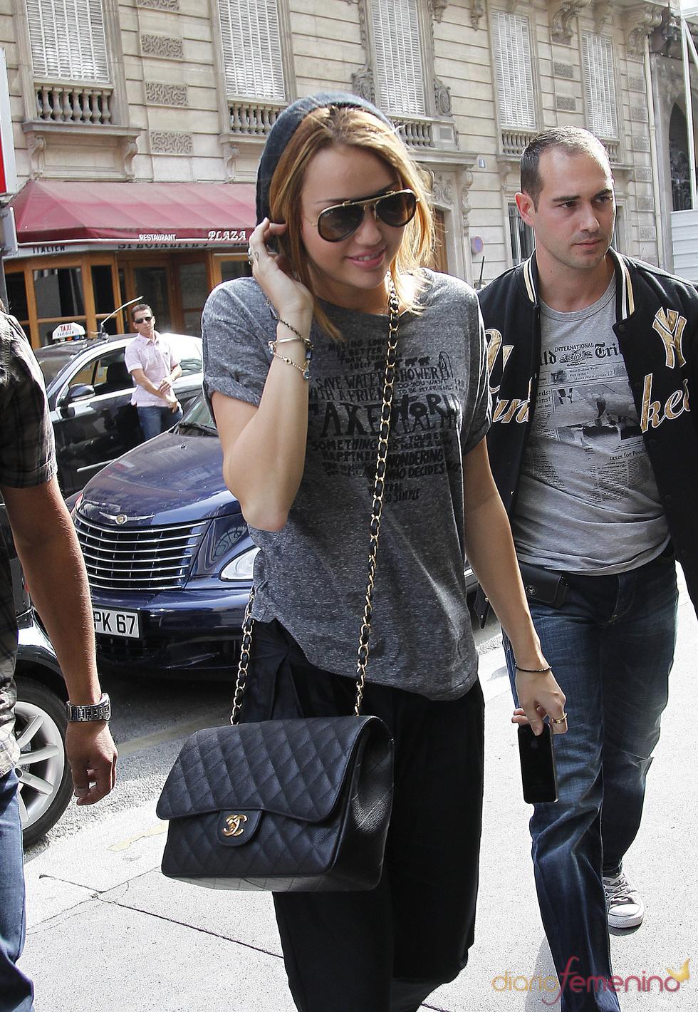 Miley Cyrus en París