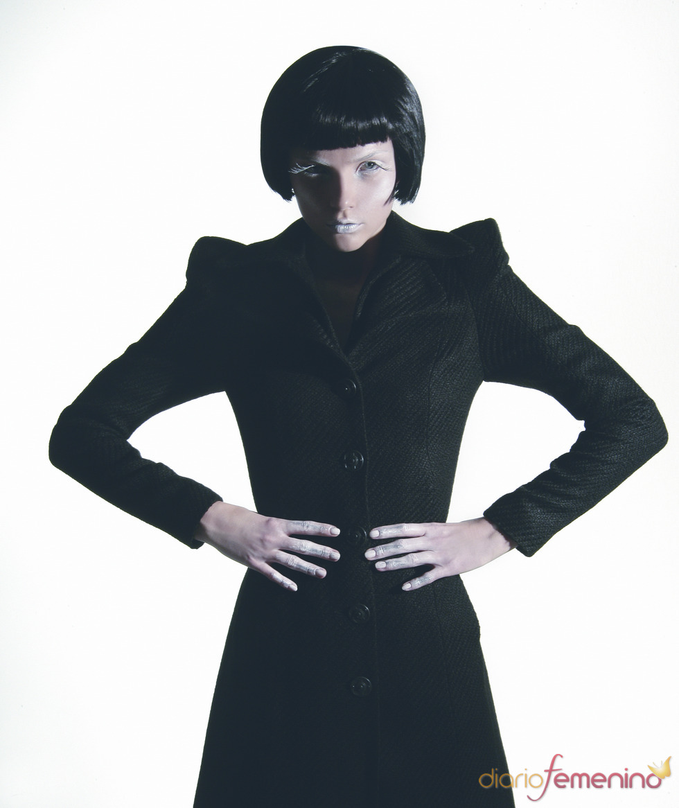 Abrigo negro de Toni Francesc