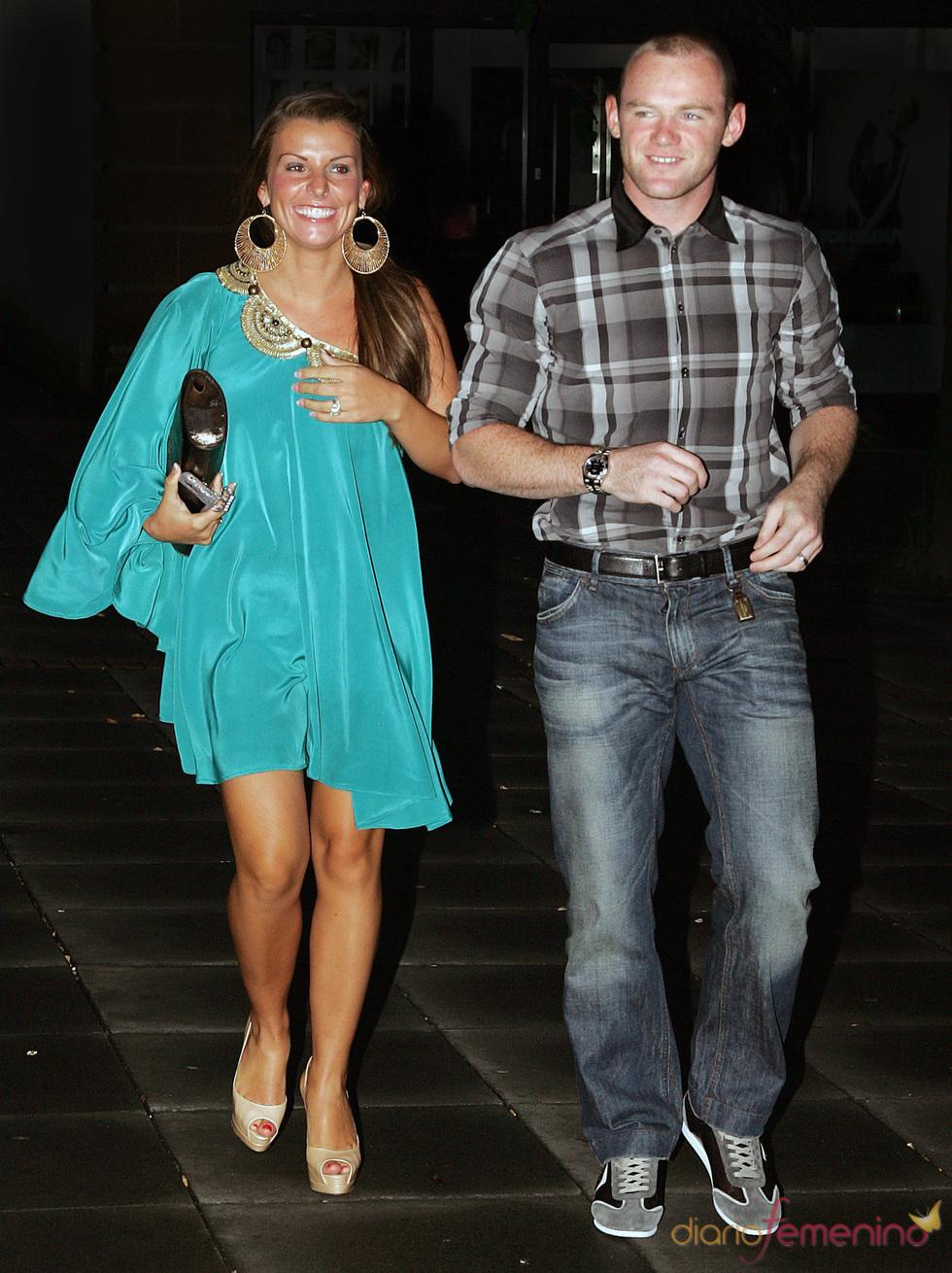 Wayne y Coleen Rooney de fiesta