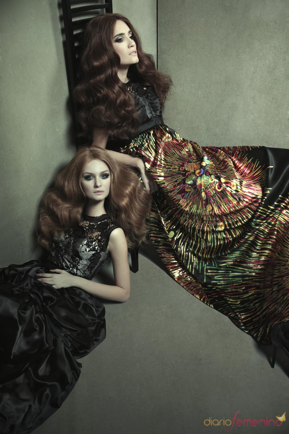 Brillantes vestidos de Eugenio Loarce