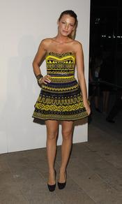 Blake Lively en la gran Noche de la Moda neoyorquina