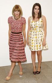 Anna Wintour y Bee Shaffer en la Noche de la Moda de Nueva York
