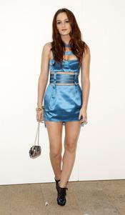 Leighton Meester en la Noche de la Moda de Nueva York