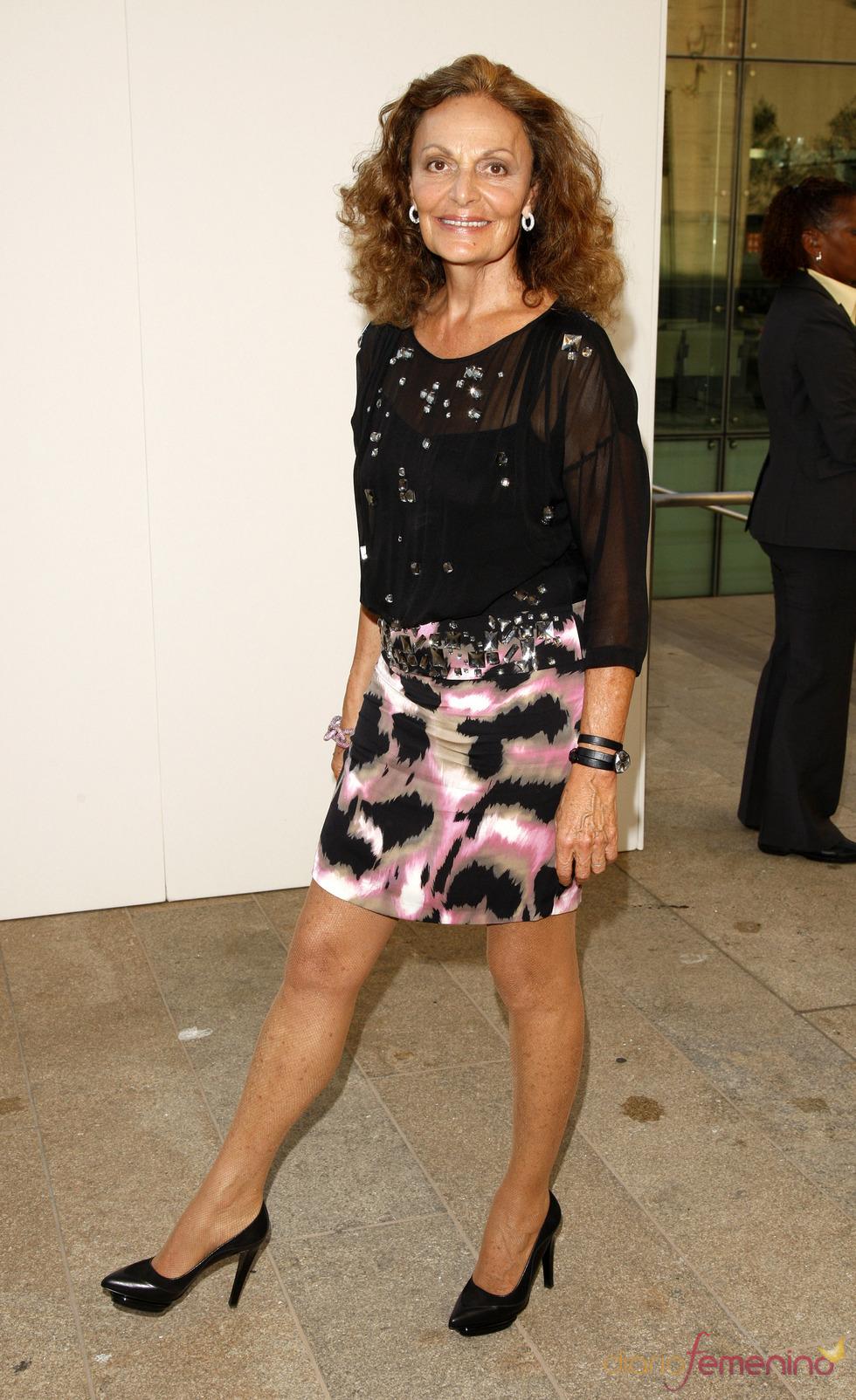 Diane von Furstenberg en la gran Noche de la Moda neoyorquina