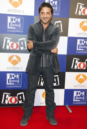 Enrique Arce en el estreno de la sexta temporada de 'FoQ'