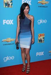Naya Rivera estrena segunda temporada de 'Glee'