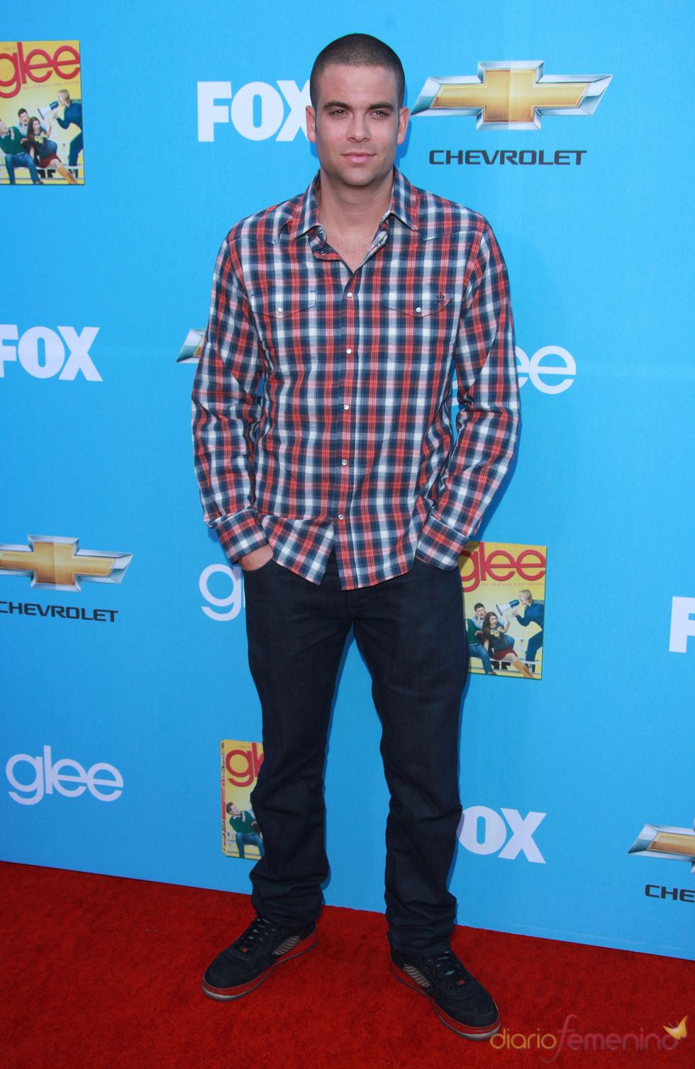 Mark Salling en el estreno de 'Glee'
