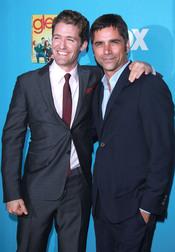 Matthew Morrison y John Stamos, de 'Glee'