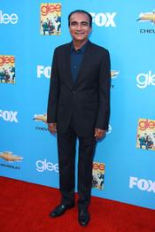 Iqbal Theba en el estreno de la segunda temporada de 'Glee'