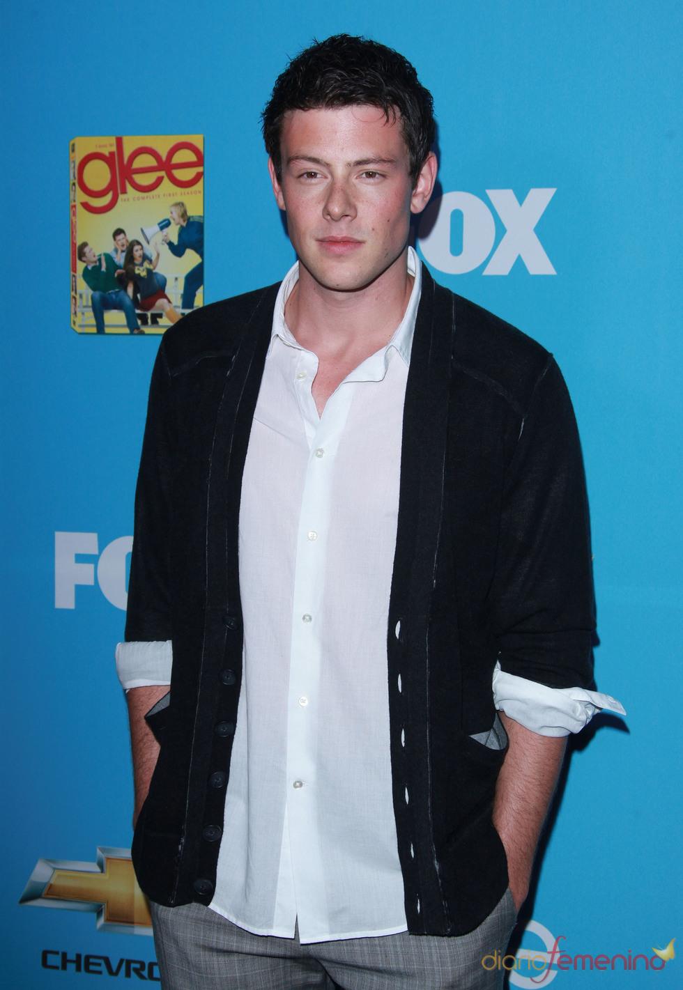 Cory Monteith estrena nueva temporada de 'Glee'