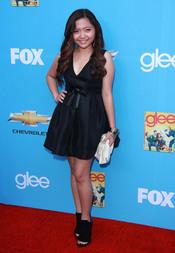 Charice Pempengco en el estreno de 'Glee'