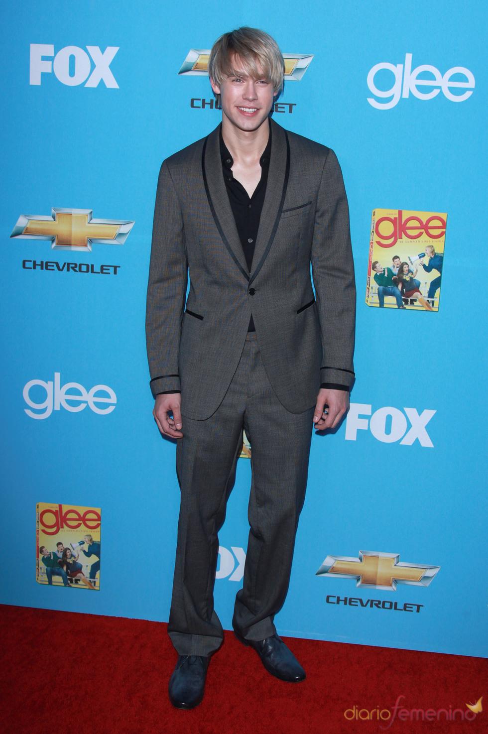 Chord Overstreet en el estreno de 'Glee'