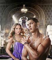 Cristiano Ronaldo y Elsa Pataky, imagen de una marca de relojes