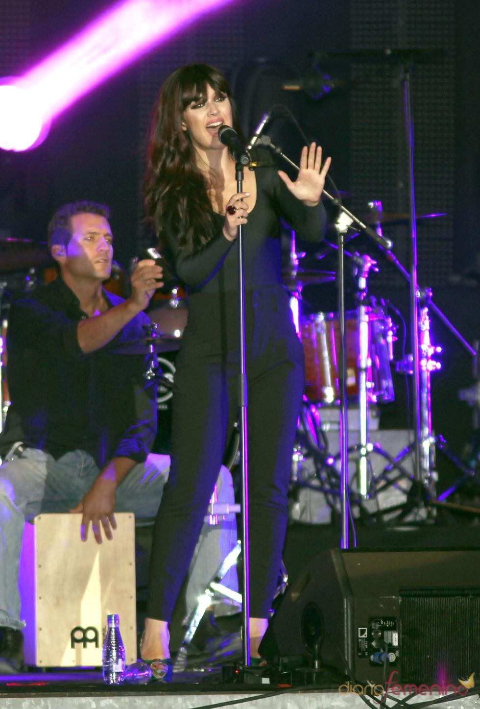 Sara Vega, telonera de Alejandro Sanz