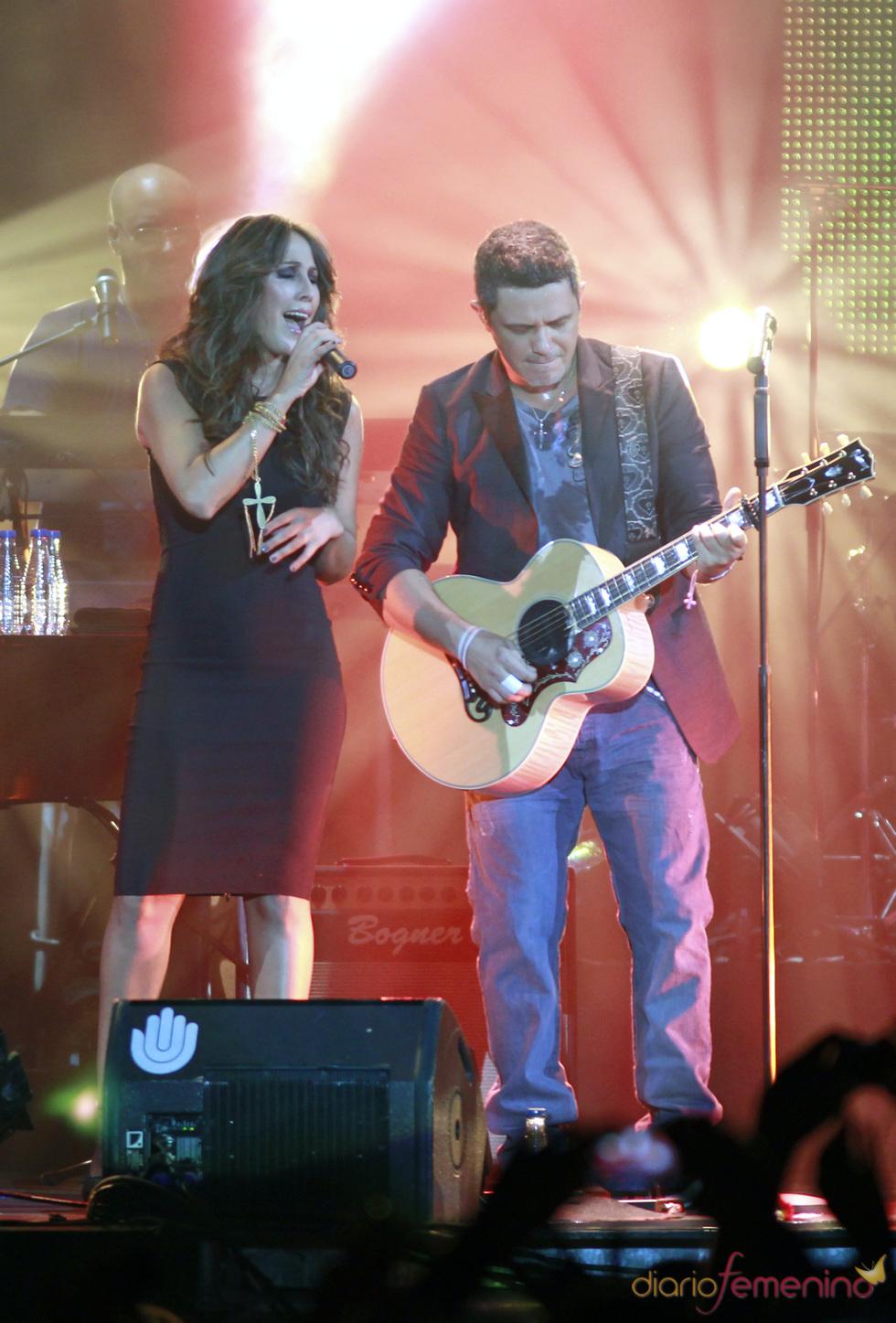Malú, a dúo con Alejandro Sanz