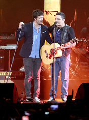 Dani Martín, a dúo con Alejandro Sanz