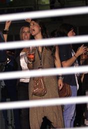 Elena Tablada en el concierto de Alejandro Sanz