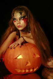 Maquillaje de fantasía para Halloween