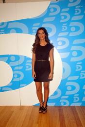 Sara Carbonero en la presentación de Informativos Telecinco