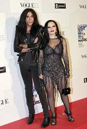 Alaska y Mario Vaquerizo en la fiesta de Vogue