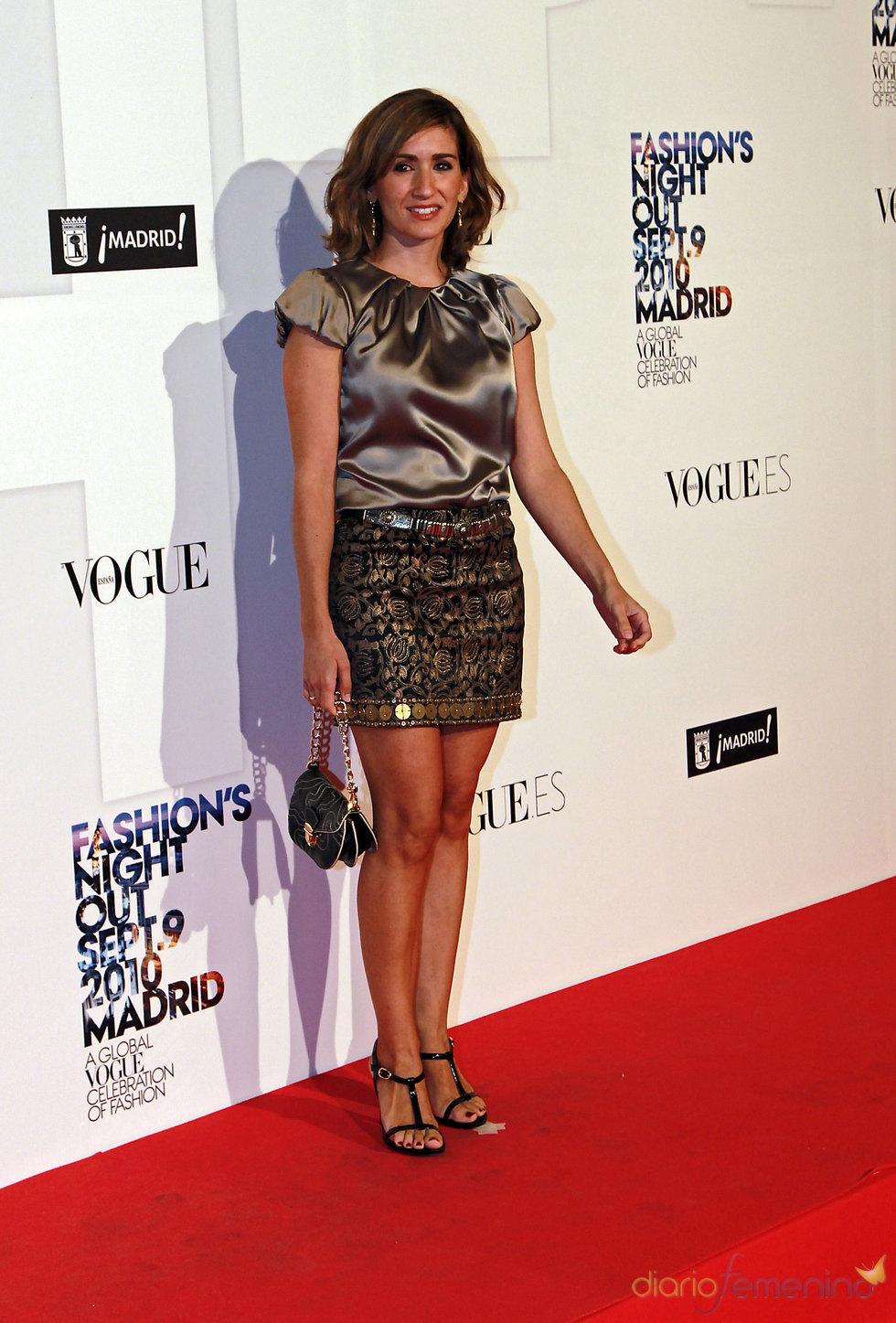Alejandra Martos en la 'Vogue Fashion Night Out'.