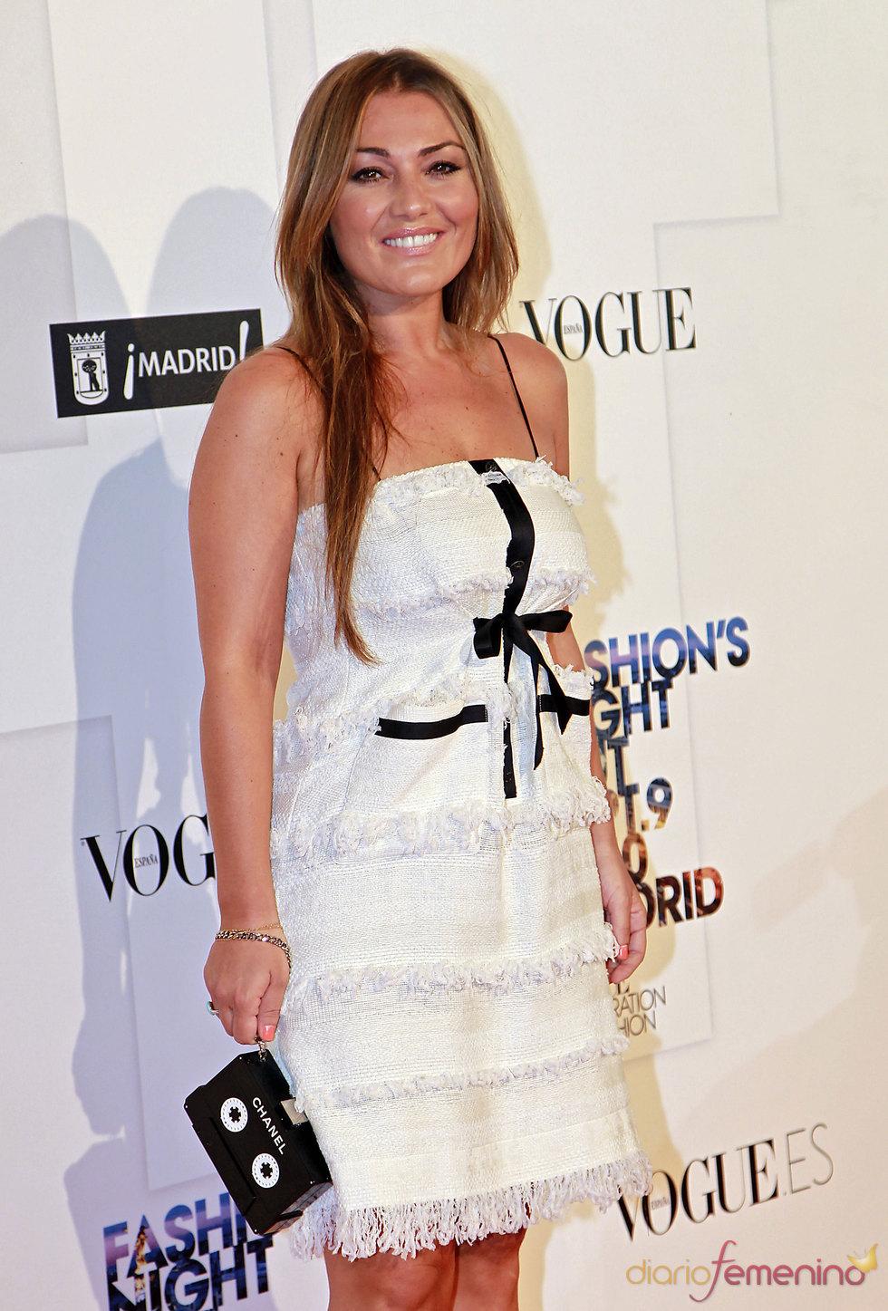 Amaia Montero en la 'Vogue Fashion Night Out'