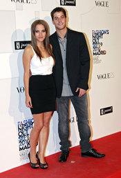 Ana Fernández y Luis Fernández en la fiesta de de la moda de Vogue