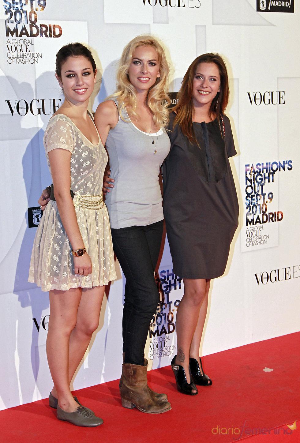 Blanca Suárez, Kira Miró y María León en la fiesta de Vogue