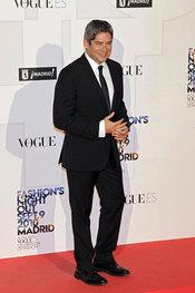 Boris Izaguirre en la 'Vogue Fashion Night Out' en Madrid