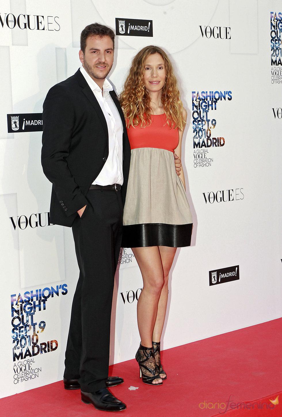 Borja Thyssen y Blanca Cuesta en la fiesta de Vogue en Madrid