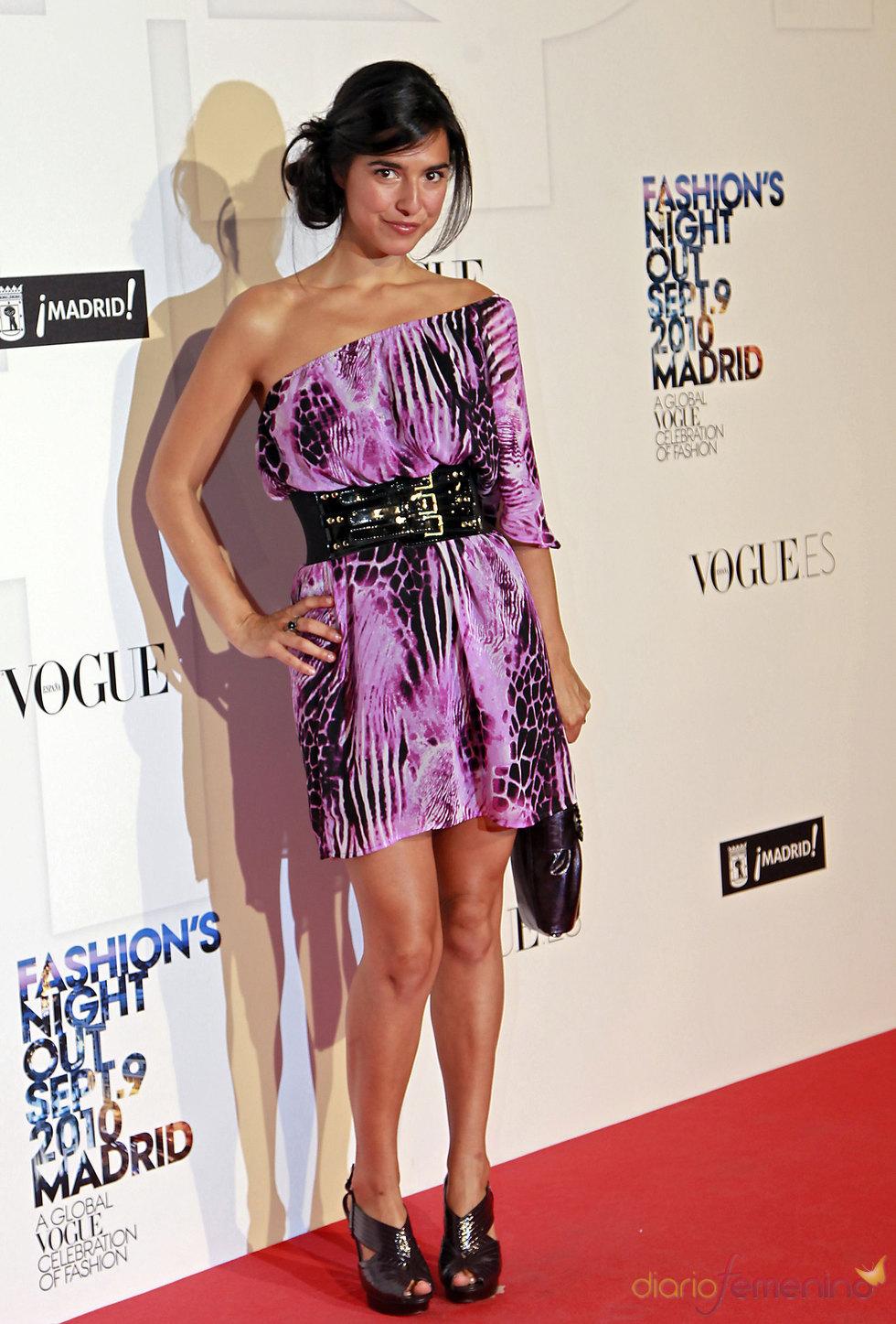 Cristina Brondo en la 'Vogue Fashion Night Out' en Madrid