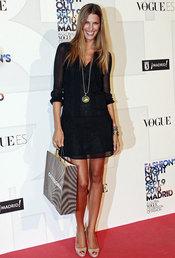 Laura Sánchez en la fiesta de Vogue en Madrid
