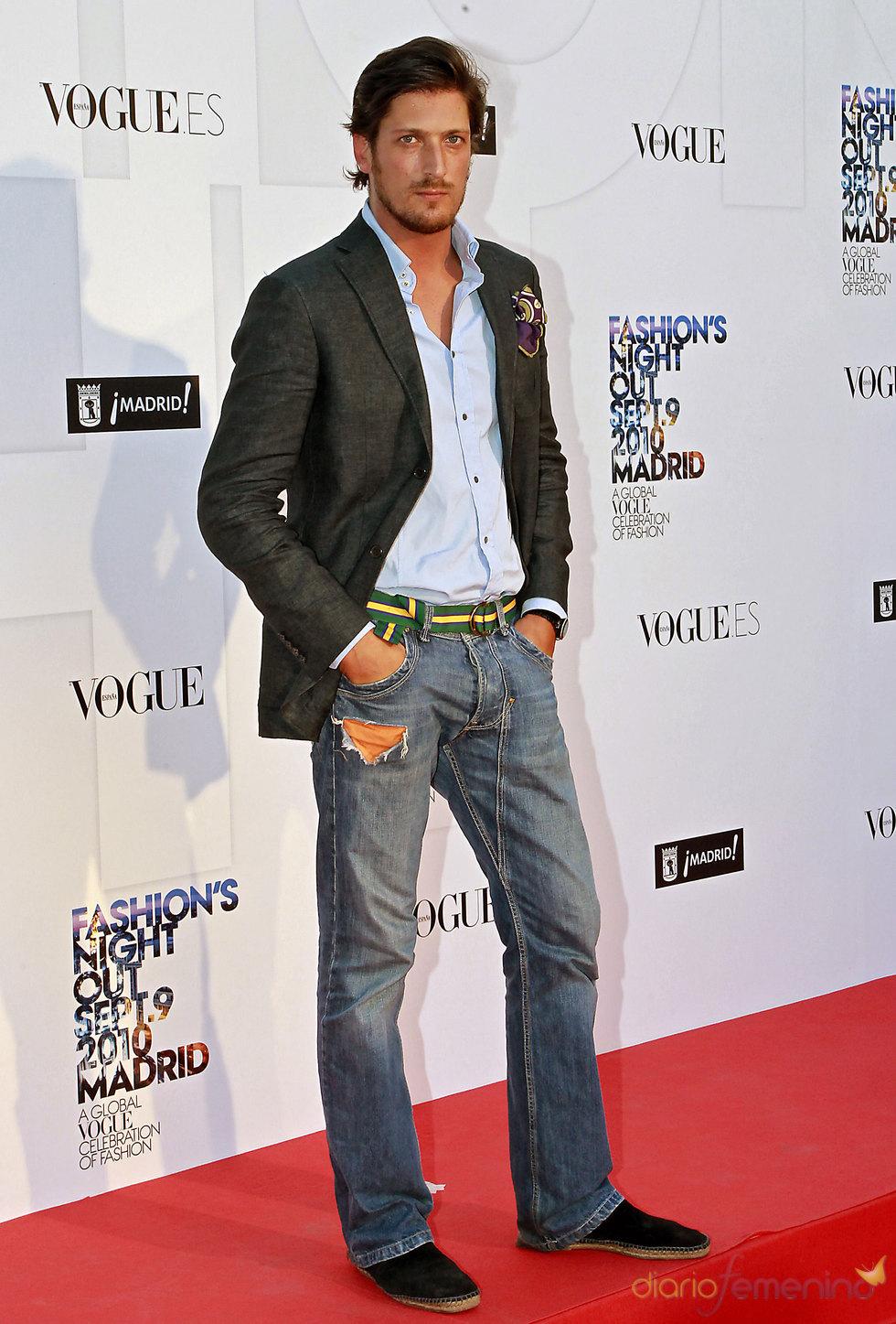 Luis Medina en la Noche de Vogue en Madrid