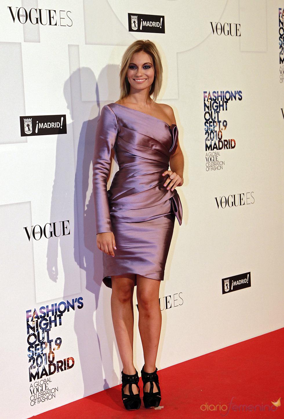 Norma Ruiz en la Noche de Vogue en Madrid