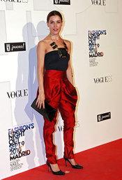Raquel Sánchez-Silva en la fiesta de Vogue en Madrid