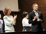 La Reina Sofía entrega el premio a Stefan Einarsson