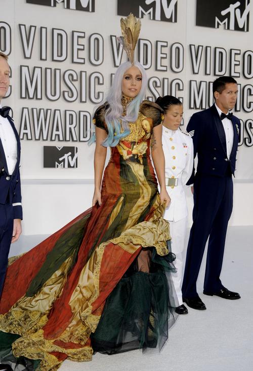 Lady Gaga arrasa en los MTV Video Music Awards