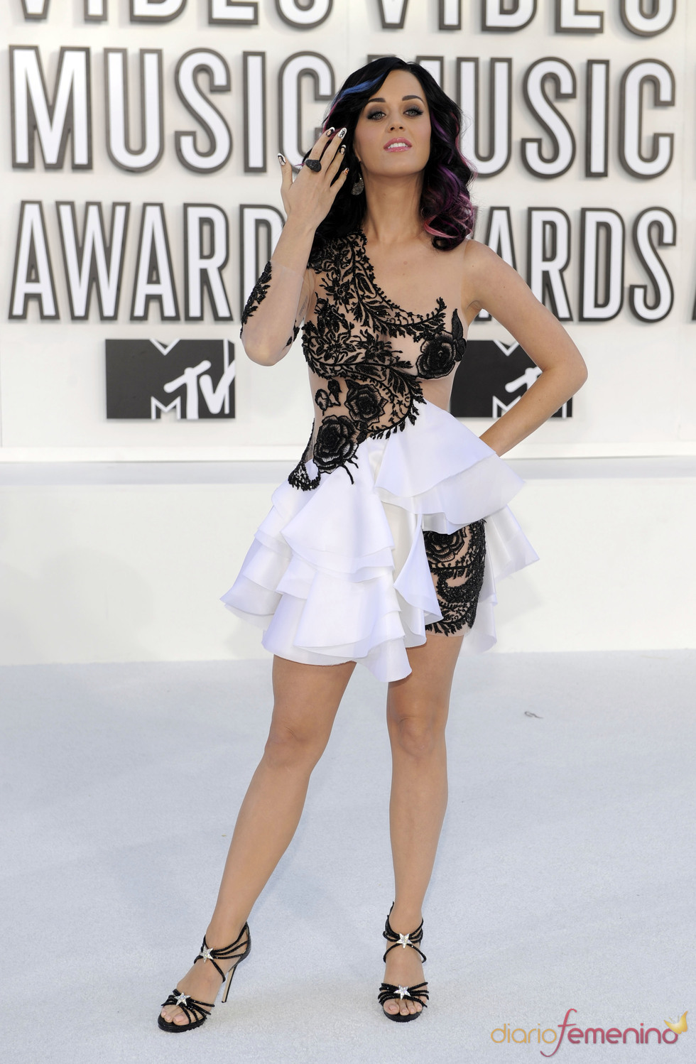 MTV Video Music Awards 2010 con Katy Perry