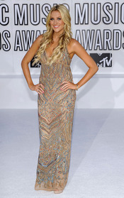 Stephanie Pratt en los MTV Video Music Awards 2010