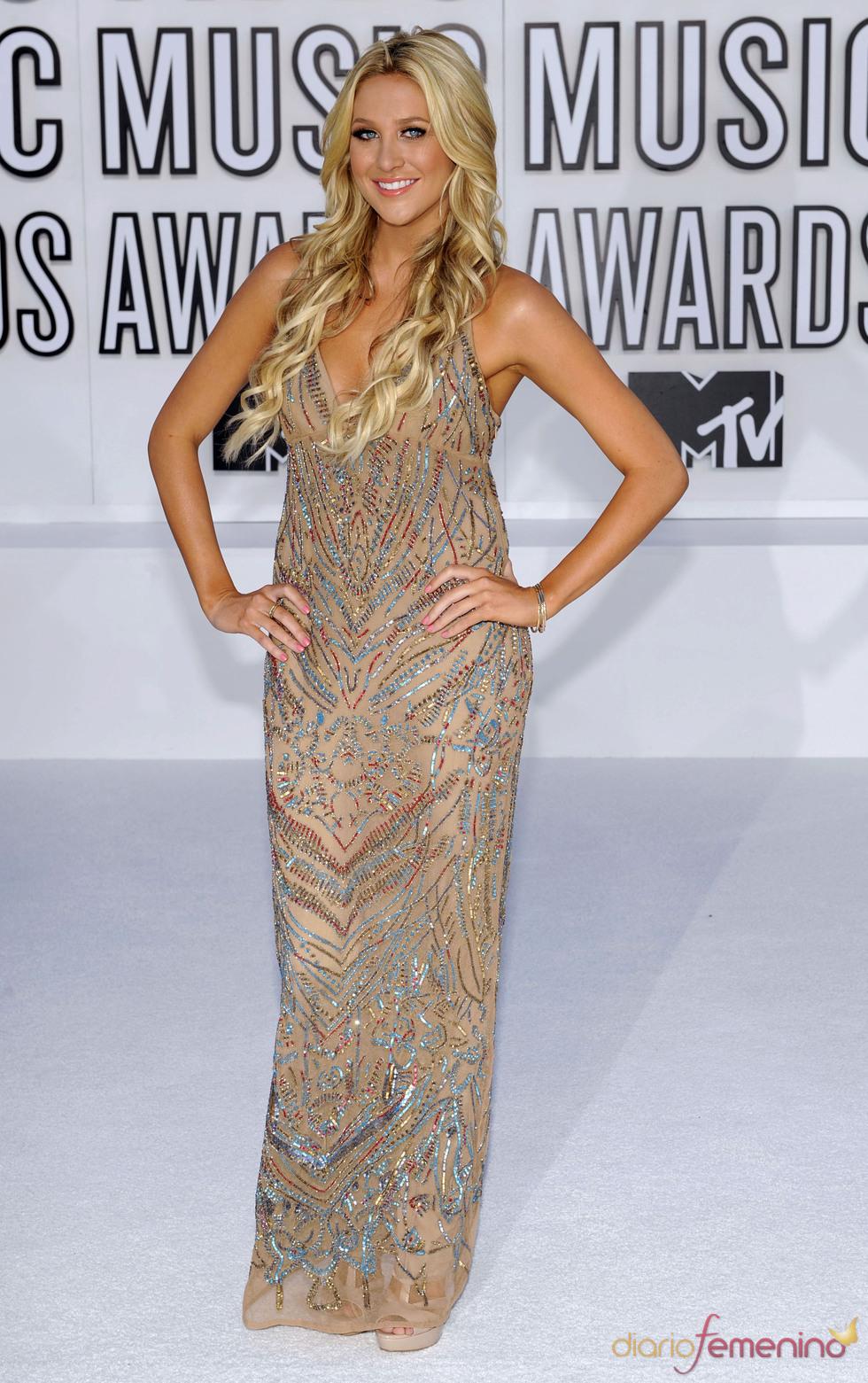 Stephanie Pratt en los MTV Video Music Awards 2010