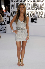 Audrina Patridge en los MTV Video Music Awards 2010