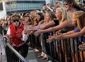 Justin Bieber y sus fans en los MTV Video Music Awards