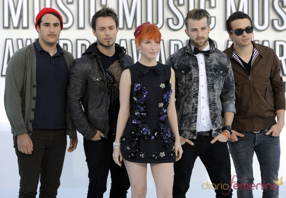 Paramore en los MTV Video Music Awards 2010