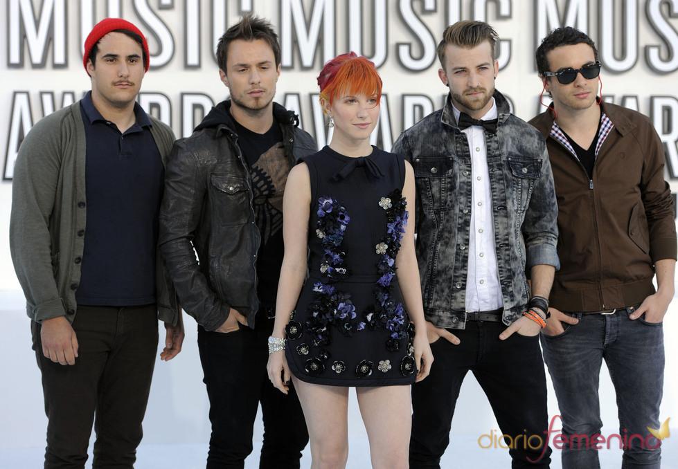 Paramore en los MTV Video Music Awards 2010