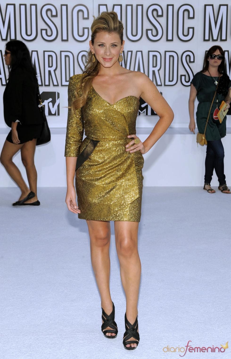 Lauren Bosworth en los MTV Video Music Awards 2010