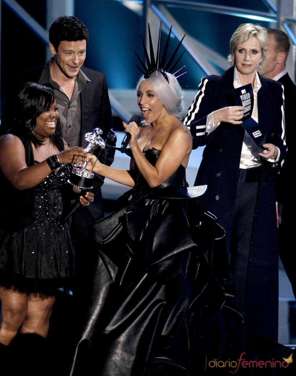 Lady Gaga, premiada en los MTV Video Music Awards 2010