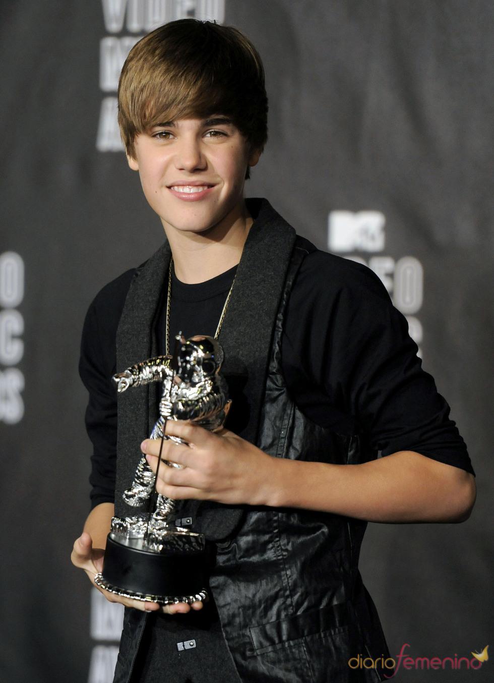 Justin Bieber, premiado en los MTV Video Music Awards 2010