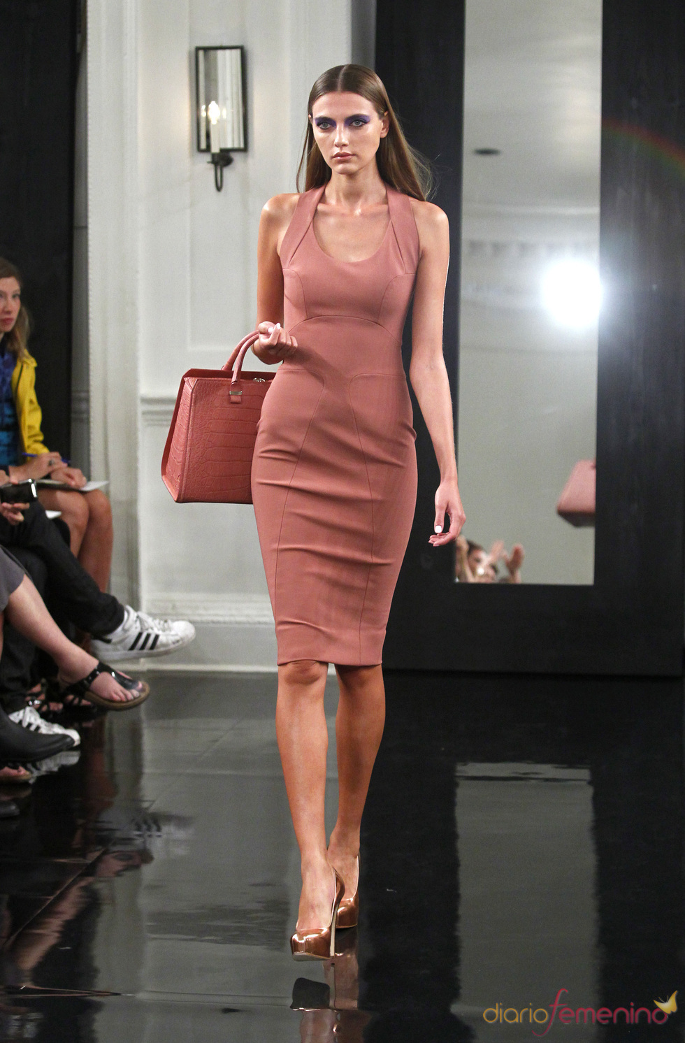 Vestido de la colección de Victoria Beckham