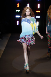 Modelo de Custo Barcelona para la New York Fashion Week