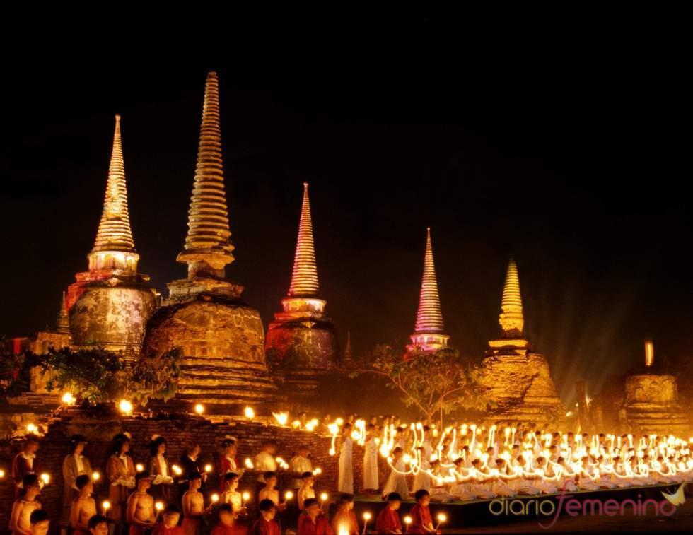 Festival de Loi Krathong en Tailandia
